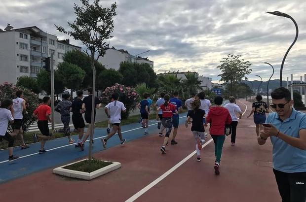 Fatsa'da atletizm yarışmaları