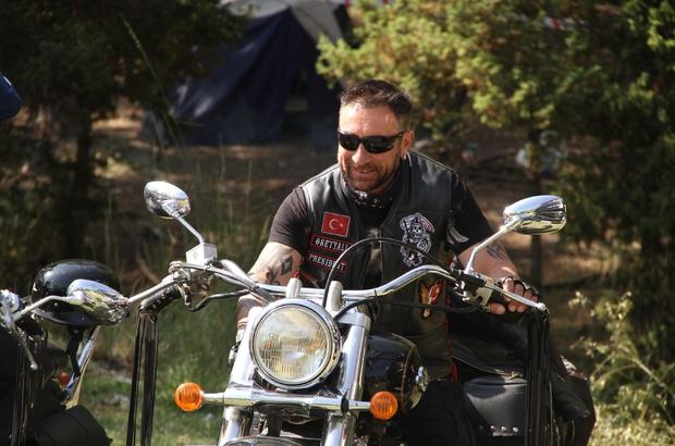Motosiklet tutkunları Eskişehir'de buluştu