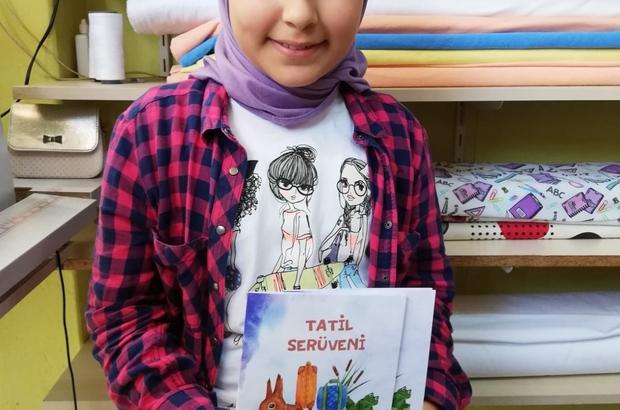 Öğretmeni keşfetti, 11 yaşında 2 kitap yazdı
