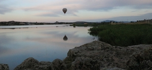 Frig Vadisi'nde ilk balon uçuşu gerçekleşti Tarihi Frigyanın üzerinde tarihi bir an