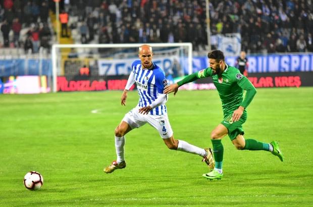 BB Erzurumspor Obertan'da mutlu sona ulaştı