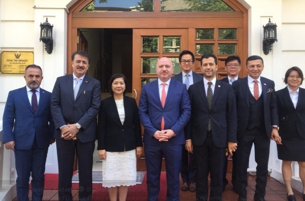 Tayland Büyükelçiliğinde Erzurum gündemi