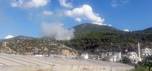 Fethiye'de orman yangını Muğla'nın Fethiye ilçesinde çıkan orman yangınına havadan ve karadan müdahale devam ediyor.