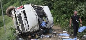 Giresun Valiliği'nden kaza açıklaması: 6 ölü, 5 yaralı