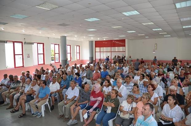 Kuşadası Belediyesinde 'mobil belediyecilik' dönemi Başkan Günel, hafta sonu Güzelçamlı sakinlerinin sorunlarını dinledi
