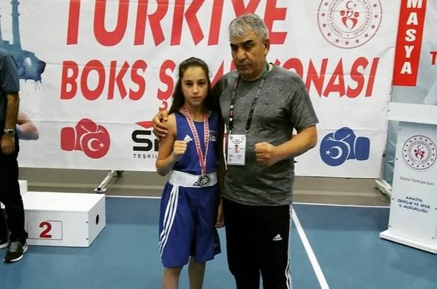 Aydınlı sporcu Türkiye 2'ncisi oldu