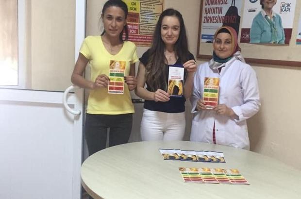 Buharkent'te vatandaşlar sıcak havalara karşı uyarıldı