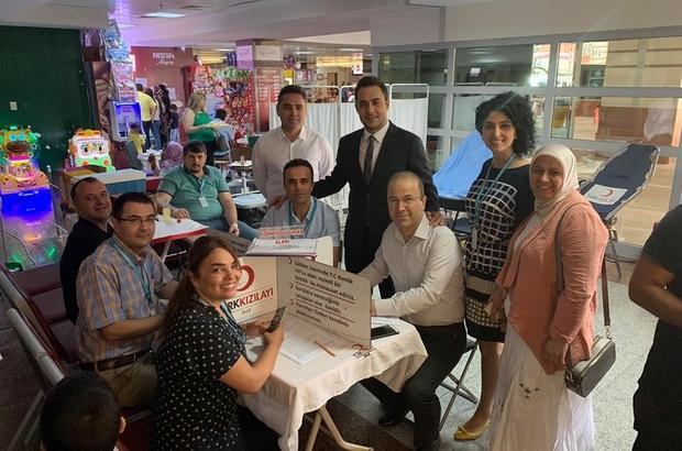 Aydın Kadın Doğum Hastanesi'nde kan ve kök hücre bağışı kampanyası
