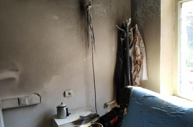 Bahçesaray Devlet Hastanesi'nde yangın