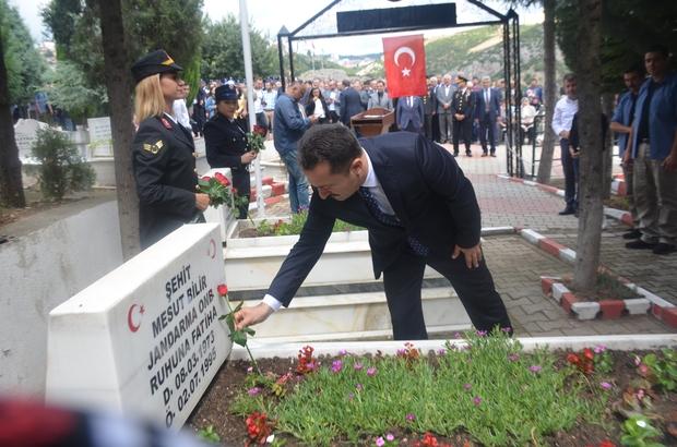 """Bilecik'te 15 Temmuz şehitleri anıldı Bilecik Valisi Bilal Şentürk; """" 15 Temmuz'da ülkemiz çok büyük bir badire atlattı"""""""