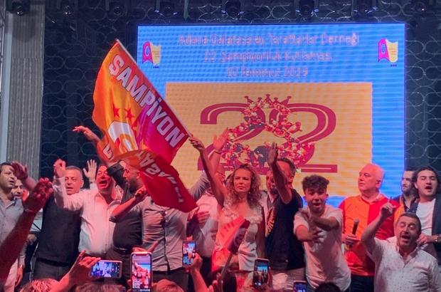 Adana'da şampiyonluk coşkusu Galatasaray'ın şampiyonluk kupaları Adana'da