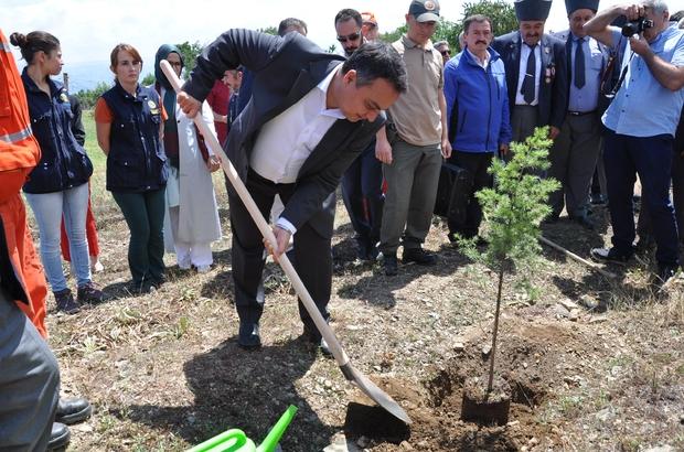 Simav'da '15 Temmuz Demokrasi Şehitleri' anısına hatıra ormanı