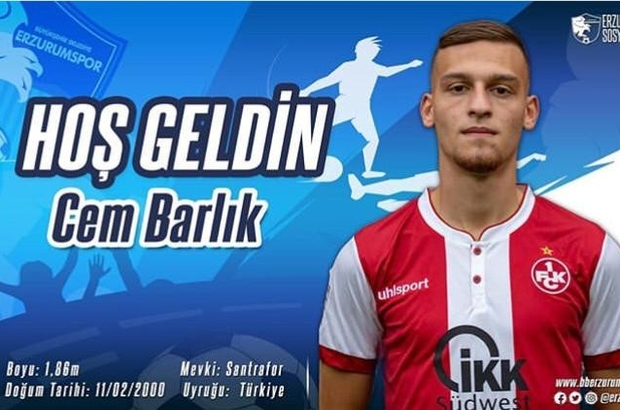 BB Erzurumspor gurbetçi oyuncu Cem Barlık'ı kadrosuna kattı