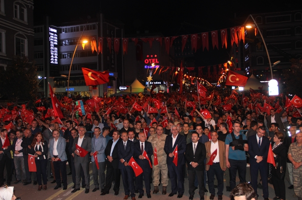 Erzurum 15 Temmuz'da tek yürek ile ilgili görsel sonucu