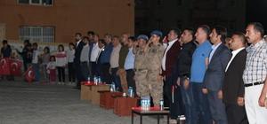 Hizan'da 15 Temmuz  Demokrasi Nöbeti