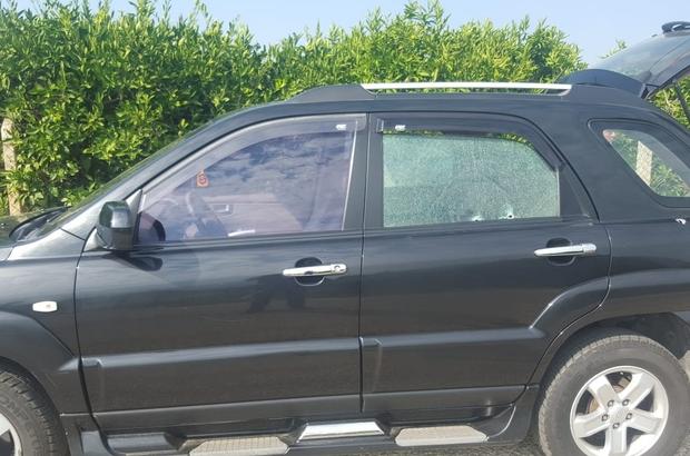 Davutlar'da silahlı saldırı Davutlar'da bir kişi otomobiliyle seyir halindeyken silahlı saldırıya uğradı