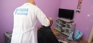Tuşba Belediyesinden 'Hasta ve Yaşlılara Evde Tıraş' hizmeti