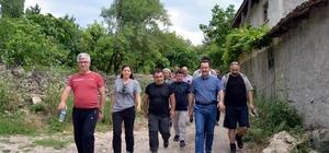 """Kırka ve Tozman yolu turizme kazandırılıyor Bilecik Valisi Bilal Şentürk; """"Bilecik 4 bölgede toprağı olan bir vilayet"""""""