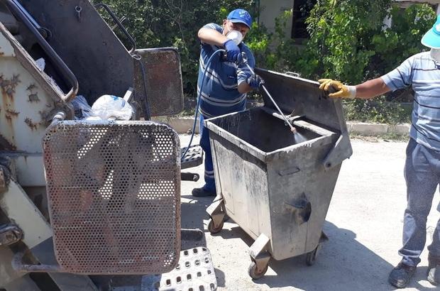 """""""Hisarcık'ta çöp konteynerleri ilaçlanıyor, Kütahya'da da ilaçlansın"""""""