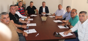 Çanakkale Ziraat Odaları İl Koordinasyon Kurulu toplantısı gerçekleştirildi