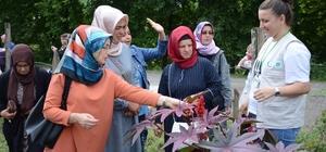 Kadın çiftçiler bilgilendirildi