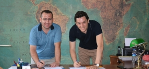 Başak Koleji ile Sarızeybekler Bisiklet firması protokol imzaladı