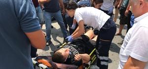 12 yaşındaki çocuğa otomobil çarptı
