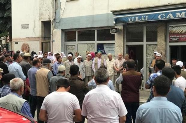 Altıntaş'ta Hacı adayları dualarla uğurlandı