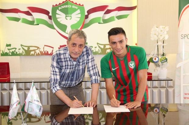 Amed Sportif Faaliyetler Muhlis'in sözleşmesi uzattı