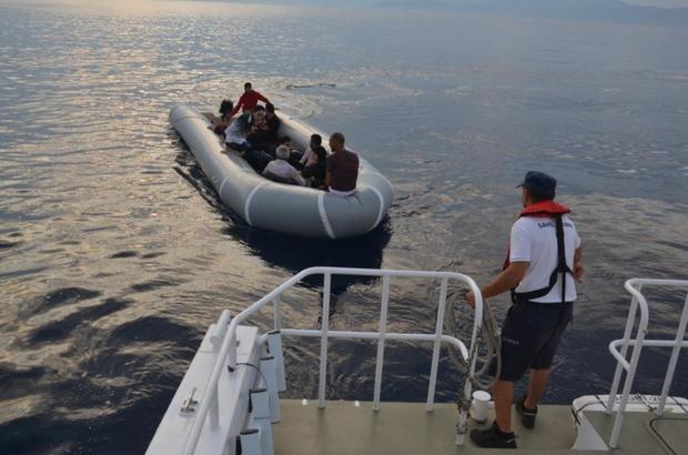 Kuşadası Körfezi'nde 9 kaçak göçmen yakalandı