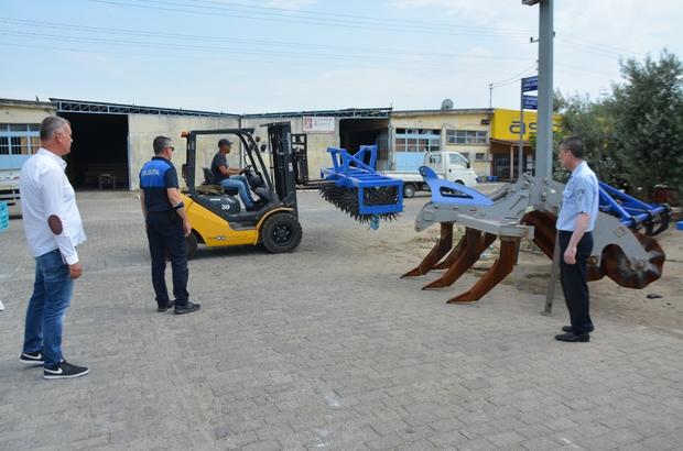 Söke Belediyesi sanayi sitesine el attı Söke Sanayi Sitesi'nde işgalci hurda araç ve ekipmanlar kaldırılıyor