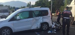 Köyceğiz'de otomobil ile motosiklet çarpıştı; 2 yaralı