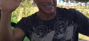 Jean Claude Van Damme Bodrum'dan vaz geçemiyor Jean Claude Van Damme'ı karşılarında görünce şok oldular