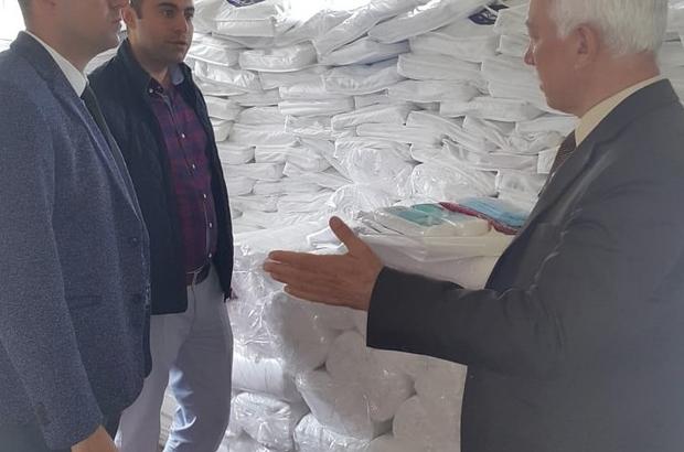 Belediye Başkan Yardımcısı Salih Özden, çalışmaları yerinde inceledi