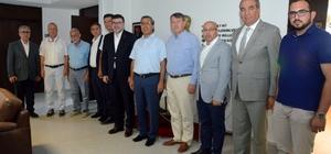 MÜSİAD İzmir'den Ege Gümrük ve Dış Ticaret Bölge Müdürüne ziyaret MÜSİAD'ın Ege Gümrük ve Dış Ticaret Bölge Müdürlüğüne ziyaretinde iş birliği mesajları