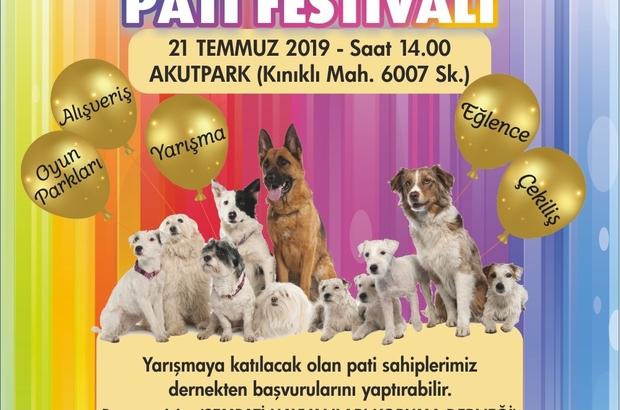 Hayvan dostları Pamukkale'deki 'Pati Festivali'nde buluşacak