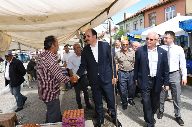 """Başkan Altay: """"İlçelerimizin geleceğini birlikte inşa edeceğiz"""""""