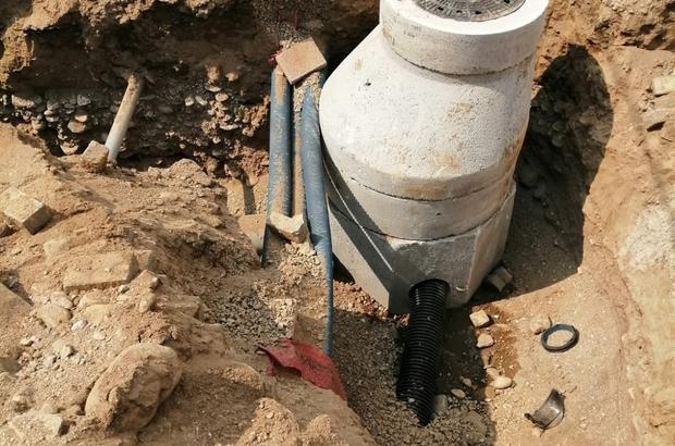 Yenipazar'da kanalizasyon çalışmalarında sona yaklaşılıyor