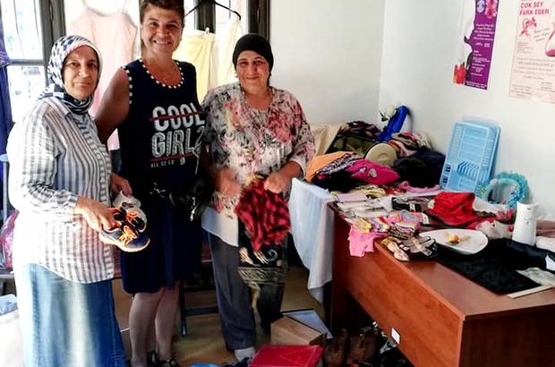 Mudanya Kadın Meclisi'nden İMO'ya kıyafet desteği