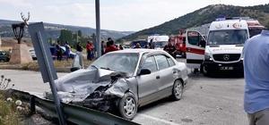 Sungurlu'daki trafik kazası1 ölü, 3 yaralı Hastaneye sevk edilen yaralı yolcu hayatını kaybetti