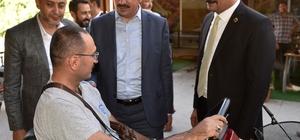 """Başkan Altay: """"Konya birlik ve beraberliğiyle Türkiye'ye örnek bir şehir"""""""