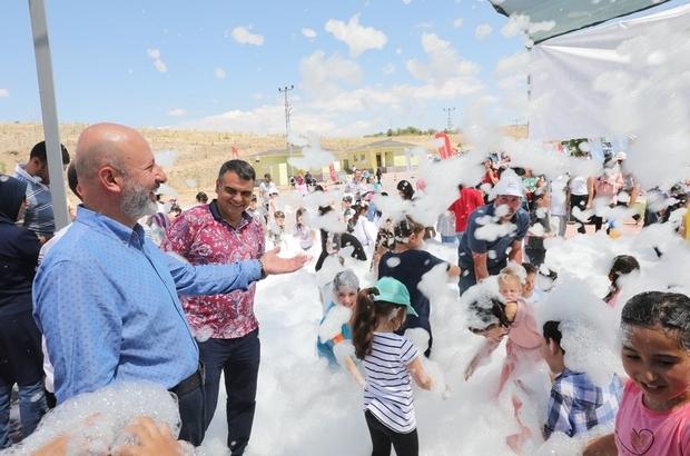 Kocasinan Belediyesi'nden Kuşçu'da muhteşem etkinlik