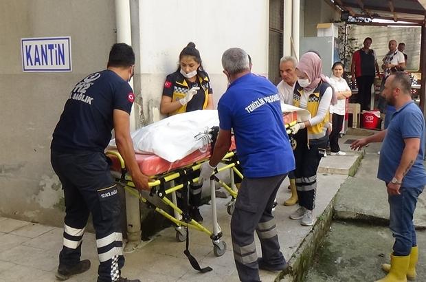 Kayıp kızın bulunan cesedi morga getirildi Vali Dr. Zülkif Dağlı, haberi helikopterde aldı