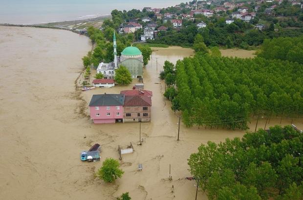 Düzce'deki  selin hasarı gün yüzüne çıktı Yüzlerce bina hasar gördü, binlerce hayvan telef oldu Tarım alanları sel sularıyla kullanılamaz hale geldi