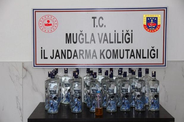 Muğla jandarmasından sahte içki ve uyuşturucu operasyonu Muğla İl Jandarma Komutanlığı'na bağlı ekipler tarafından Ula Akyaka Mahallesi ve Fethiye'de gerçekleştirilen sahte içki ve uyuşturucu operasyonunda 3 kişi tutuklandı.