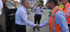 """Kars'ın şehir içi yol ve kaldırımlarına 100 milyonluk yatırım AK Parti Milletvekili Ahmet Arslan: """"Verdiğimiz sözleri tek tek yerine getiriyoruz"""""""