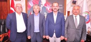 İlçe Belediye Başkanlarından Başkan Kavaklıgil'e ziyaret