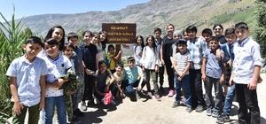 Nemrut Dağı'nda masallarla doğa eğitimi Nemrut'u hem gezdiler hem de birer hikaye yazdılar