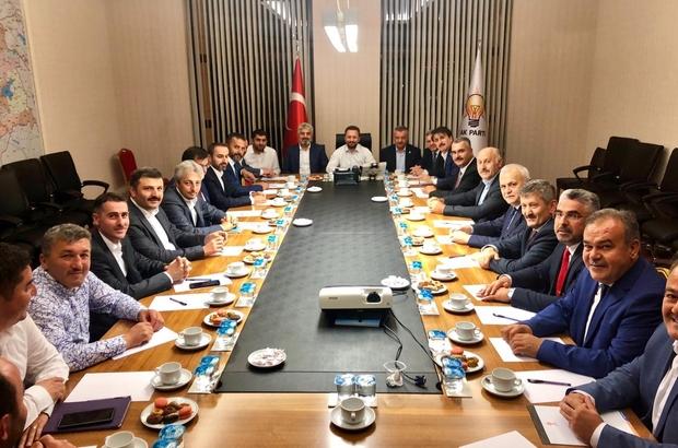Ahlatcı, Karadeniz Bölge İl Başkanları toplantısına katıldı