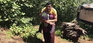 Engelli genç yolu olmayan evine annesinin sırtında gidiyor Giresun'da 26 yaşındaki Yasin Kılıç, engelli olduğu için yolu olmayan evine annesinin sırtında gitmek zorunda kalıyor
